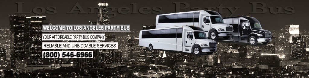 Los Angeles Limo bus rental services